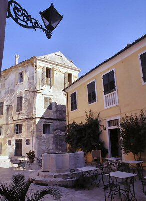 Venetian well on Corfu
